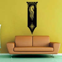 Rohirrim Banner - Lord of the Rings - Wall Decal