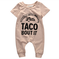 Newborn Infant Baby Boys Girl Clothes Kid Cotton Romper Jumpsuit Clothing Outfit One Pieces
