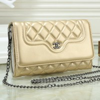 2018 new trend Lingge ladies shoulder bag chain small square bag #4