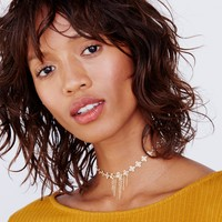 Free People Lexie Rose Delicate Choker