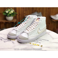 Morechoice Tuia Nike Blazer Mid 77 Vntg Suede Mix Casual Women Men Flat Shoes Leather Suede Sneaker 853508 A
