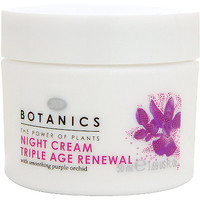 Botanics Triple Age Renewal Night Cream