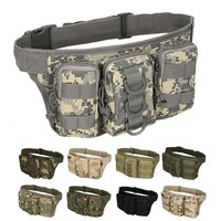 Outdoor Tactical Bag Utility Tactical Waist Pack Pouch Military Camping Hiking Bag Belt Backpack