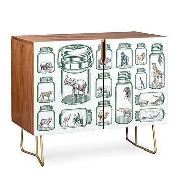 Belle13 Endangered Species Preservation Credenza