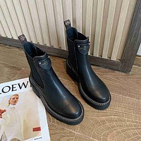 LV  Women Casual Shoes Boots fashionable casual leather12