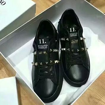 Valentino Old Skool Woman Men Casual Flats Shoes
