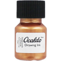 Rose Gold Drawing Ink - 30ml | Calligraphy Pens at The Works