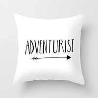 Adventurist Throw Pillow by BELLES & GHOSTS