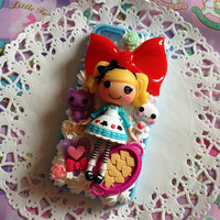 Custom Kawaii Decoden wizard of oz lalaloopsy phone case ft dorothy and more for iPhone 4/4s, 5, samsung galaxy S2 S3 S4, Ipod Touch