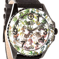 The Plant Life Watch in Black