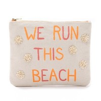 We Run This Beach Pouch