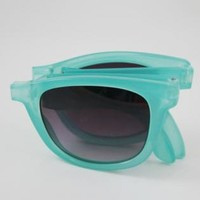 Foldable Jelly Color Sunglasses TRW541