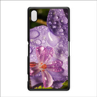 Wet Flower Hard Plastic Case for Sony Xperia Z2 by Mick Agterberg