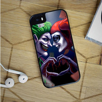 harley quinn and joker love iPhone 5(S) iPhone 5C iPhone 6 Samsung Galaxy S5 Samsung Galaxy S6 Samsung Galaxy S6 Edge Case, iPod 4 5 case