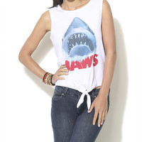 Jaws Tie Front Tank  | Shop Tops at Wet Seal