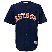 Houston Astros Majestic Official Cool Base Alternate Jersey Navy