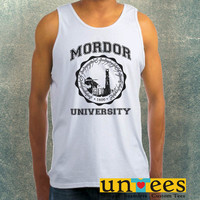 Lord of The Rings Mordor University Clothing Tank Top For Mens