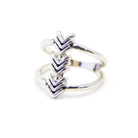 Wild & Free Silver Ring