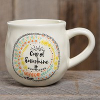 Happy Mug with Cup of Sunshine by Natural Life