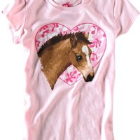 Ink Inc 7−16 Love For Horses T−Shirt