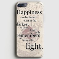 Happiness Quote Harry Potter iPhone 8 Plus Case