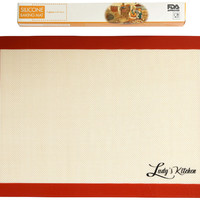 "Silicone Baking Mat, 1-Pc Half Sheet (16.5""x11.6""), by Ludy's Kitchen"