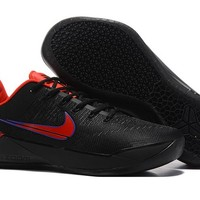 HCXX N280 Nike Zoom Kobe 12 A.D EP Actual Combat Basketball Shoes Black Red