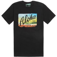 Reef Yoloha T-Shirt - Mens Tee - Black -