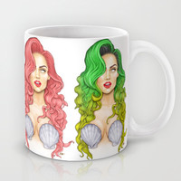Jingle Bell Ball Artpop Mermaid  Mug by Dannydax