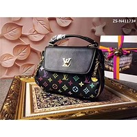 LV Louis Vuitton WOMEN'S TOP LEATHER HANDBAG SHOULDER BAG