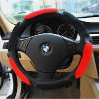 Car Acessory On Sale Hot Deal 3D Permeable Steer Wheel Cover [4914638532]