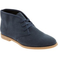 Old Navy Womens Desert Ankle Boots