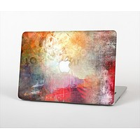 """The Grungy Colorful Faded Paint Skin Set for the Apple MacBook Pro 15"""" with Retina Display"""