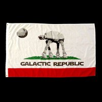 Star Wars Galactic Republic (California Inspired) Flag