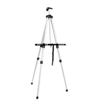Aluminium Alloy 3 Folding Painting Easel Adjustable Tripod Artist With Carry bag