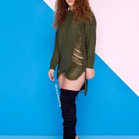 Bethany Distressed Sweater