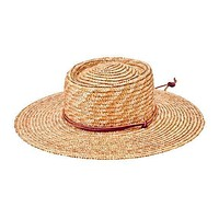 Wheat Straw Hat with Chin Cord