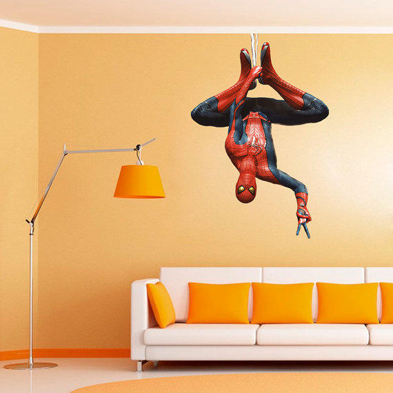 Spiderman Decal Heroes And Super Heroes From
