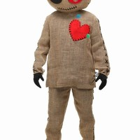 New Bayi New Cosplay Party costume adult Halloween classic costume Sack Voodoo Doll Costume high quality