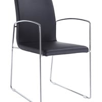 Marco Dining Armchair Black (set of 2)
