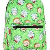 RIck and Morty Portal Sublimated All Over Print Backpack