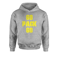 Go Pack Go Green Bay Youth-Sized Hoodie