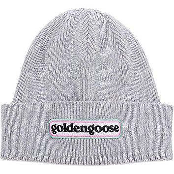 Golden Goose Syrma Very Comfortable Womens Cotton Ladies Hat Grey G33Wa095.A3