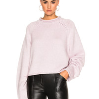 Protagonist Cropped Rollneck Sweater in Blossom | FWRD