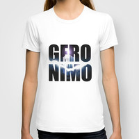 Doctor who Geronimo T-shirt by Dan Lebrun
