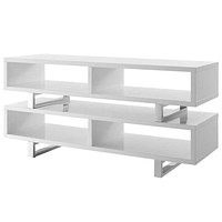 "Amble 47"" TV Stand, White -Modway"