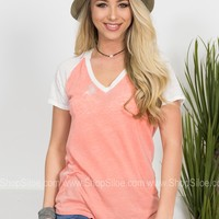 Easy Breezy Top | Peach