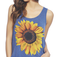 Sunflower Tank | Wet Seal