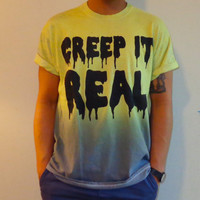 Creep It Real Tee by LUNCCHB0XX on Etsy