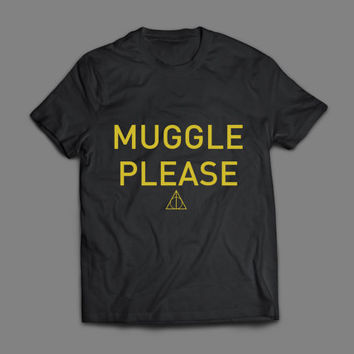 Muggle Please - Harry Potter TShirt